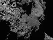 Comet on 1 May 2016 – NavCam Credit: ESA/Rosetta/NAVCAM – CC BY-SA IGO 3.0