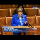Congresswoman Adams discusses the Bank on Students Emergency Loan Refinancing Act on the floor