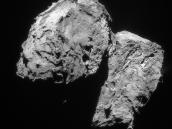 Comet on 10 February 2016 – NavCam  Credit: ESA/Rosetta/NAVCAM – CC BY-SA IGO 3.0