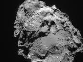Comet on 5 February 2016 – NavCam Credit: ESA/Rosetta/NAVCAM – CC BY-SA IGO 3.0