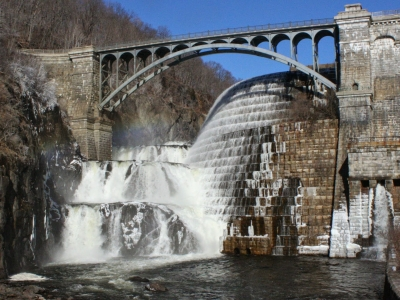 Croton Reservoir Dam in Westchester County