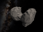 New comet shape model Credit: ESA/Rosetta/NAVCAM, Credit: CC BY-SA IGO 3.0