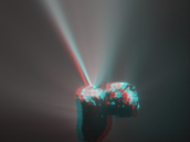 Comet jet in 3D Credit: Acknowledgement: D. Romeuf (University Claude Bernard Lyon 1, Credit: France); images: ESA/Rosetta/MPS for OSIRIS Team MPS/UPD/LAM/IAA/SSO/INTA/UPM/DASP/IDA;