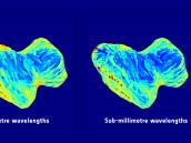 Subsurface temperature maps of 67P/Churyumov–Gerasimenko Credit: ESA/Rosetta/NASA/JPL-Caltech