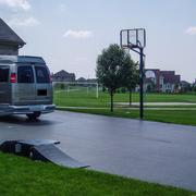 Image: Sealcoated Driveway With Basketball Hoop