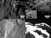 Variety of fracture networks found on Comet 67P/C-G Credit: ESA/Rosetta/MPS for OSIRIS Team MPS/UPD/LAM/IAA/SSO/INTA/UPM/DASP/IDA