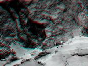 Hathor and Anuket in 3D Credit: ESA/Rosetta/MPS for OSIRIS Team MPS/UPD/LAM/IAA/SSO/INTA/UPM/DASP/IDA