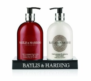 Baylis & Harding Men's Black Pepper & Ginseng 2 Piece Gift Set