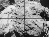 14 February close flyby, 10:15 GMT Credit: ESA/Rosetta/NAVCAM – CC BY-SA IGO 3.0
