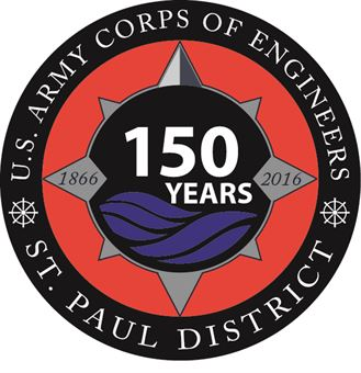 St. Paul District, 150th Anniversary compass logo