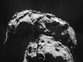 Comet on 21 January 2015 – NavCam  Credit: ESA/Rosetta/NAVCAM – CC BY-SA IGO 3.0