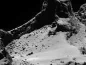 Comet From 8 km Credit: ESA/Rosetta/MPS for OSIRIS Team MPS/UPD/LAM/IAA/SSO/INTA/UPM/DASP/IDA
