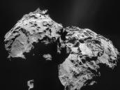 Comet on 12 January 2015 – NavCam  Credit: ESA/Rosetta/NAVCAM – CC BY-SA IGO 3.0