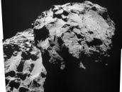 December 2014 View of Comet 67P/Churyumov-Gerasimenko Credit: ESA/Rosetta/NAVCAM