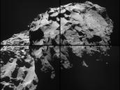 December 2014 View of Rosetta's Destination Comet Credit: ESA/Rosetta/NAVCAM