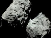 Colour image of comet Credit: ESA/Rosetta/MPS for OSIRIS Team MPS/UPD/LAM/IAA/SSO/INTA/UPM/DASP/IDA