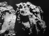 Comet on 9 December 2014 – NavCam Credit: ESA/Rosetta/NAVCAM – CC BY-SA IGO 3.0