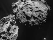 Comet on 7 December 2014 – NavCam Credit: ESA/Rosetta/NAVCAM – CC BY-SA IGO 3.0