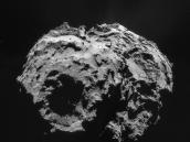 Comet on 2 December – NavCam Credit: ESA/Rosetta/NAVCAM – CC BY-SA IGO 3.0