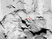 Searching for Philae Credit: ESA/Rosetta/MPS for OSIRIS Team MPS/UPD/LAM/IAA/SSO/INTA/UPM/DASP/IDA