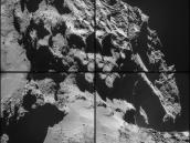 Comet on 24 October – NavCam Credit: ESA/Rosetta/NAVCAM