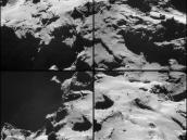 Comet on 15 October – NavCam Credit: ESA/Rosetta/NAVCAM