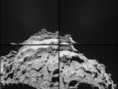 Comet on 30 September – NavCam Credit: ESA/Rosetta/NAVCAM
