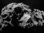 Comet on 24 September – NavCam Credit: ESA/Rosetta/NAVCAM