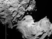 Rosetta Lander's Backup Landing Site Credit: ESA/Rosetta/MPS for OSIRIS Team MPS/UPD/LAM/IAA/SSO/INTA/UPM/DASP/IDA