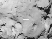 Philae's backup landing site Credit: ESA/Rosetta/MPS for OSIRIS Team MPS/UPD/LAM/IAA/SSO/INTA/UPM/DASP/IDA