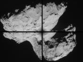 Comet on 31 August 2014 – NavCam montage Credit: ESA/Rosetta/NAVCAM