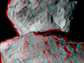 Rosetta's Comet in 3D Credit: ESA/Rosetta/MPS for OSIRIS Team MPS/UPD/LAM/IAA/SSO/INTA/UPM/DASP/IDA