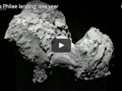 Rosetta Philae landing: one year  Credit: European Space Agency