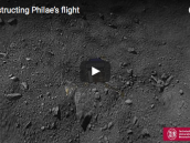 Reconstructing Philae's flight  Credit: The video was prepared with inputs from the ROMAP