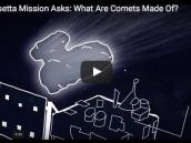 7. The Rosetta Mission Asks: What Are Comets Made Of?  Credit: NASA / JPL