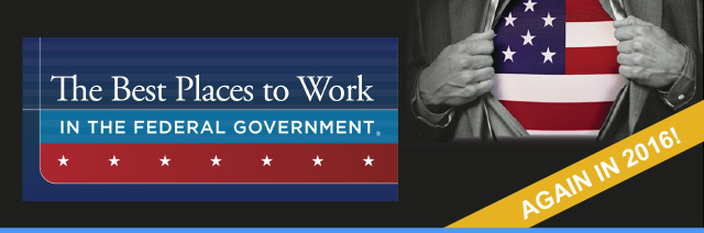 Banner: best places to work in the federal government