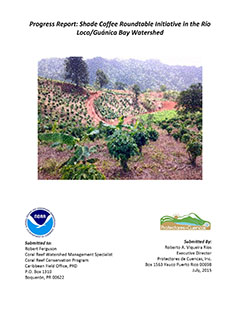 cover - Shade grown coffee certification system for Puerto Rico