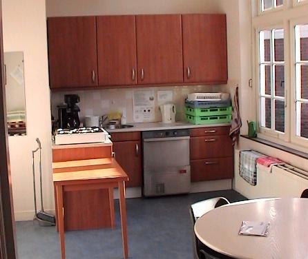 Interieurfoto van de keuken