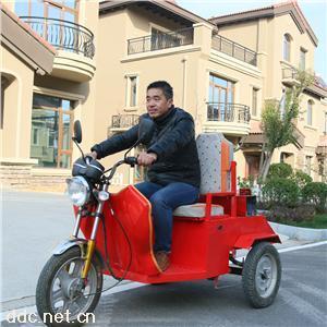 本公司自小保洁电动三轮车
