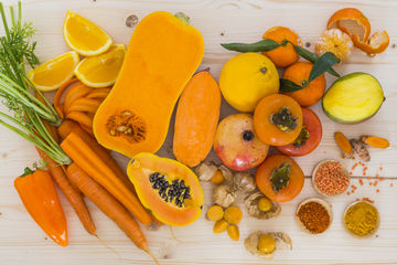 Vitamin A to treat bumpy skin