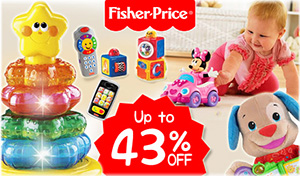 Fisher-Price up to 43% off