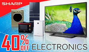 40% Off Sharp Electronics