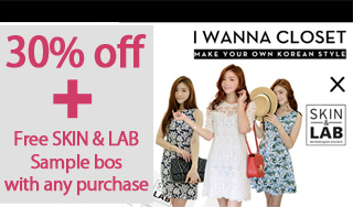 30% off + Free SKIN & LAB Sample bos with any purchase