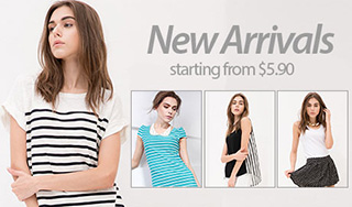 New Arrivals starting from $5.90