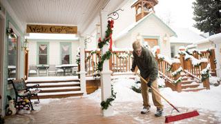 Christmas in Fort Benton