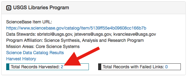 Data Contributor USGS Libraries Program | Science Data Catalog
