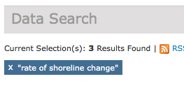 Bounded search results for rate of shoreline change | Science Data Catalog