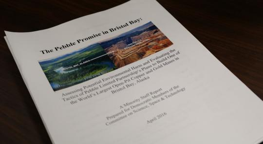 Ranking Member Johnson Releases Staff Report on Pebble Mine in Bristol Bay feature image