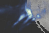 Atmospheric River Soaks California