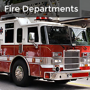 Fire Departments - picture of fire truck